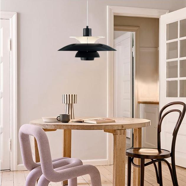 PH5 Louis Poulsen 吊燈(黑/白) 5