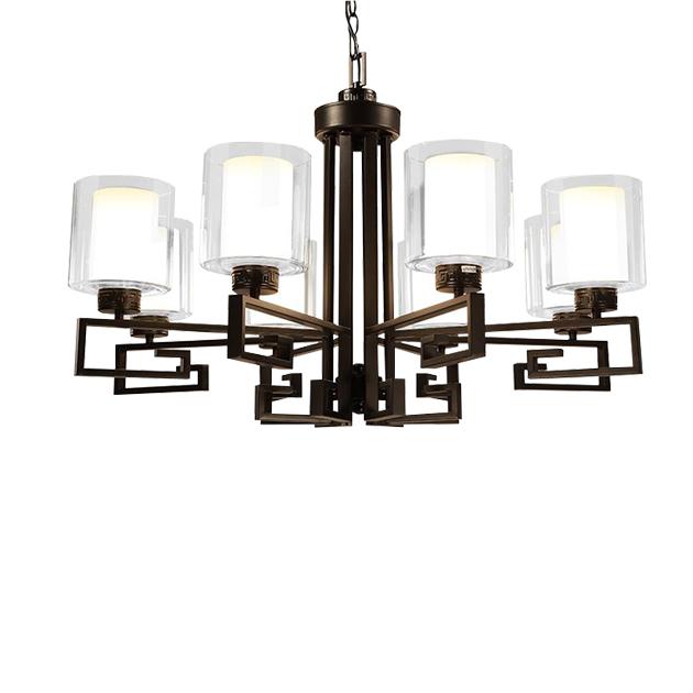 新中式直角吊燈 1