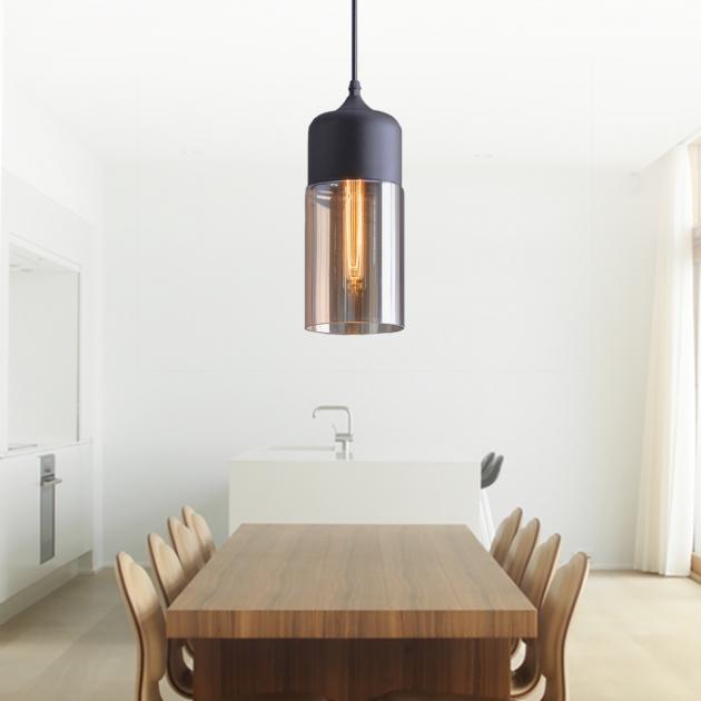 工業風透明玻璃吊燈 4