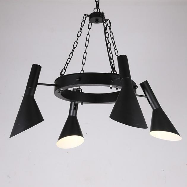 Moderno復古吊燈-4燈 2