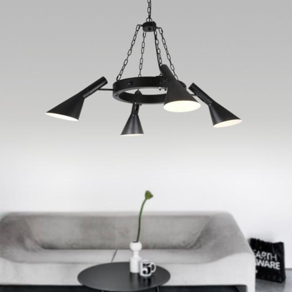 Moderno復古吊燈-4燈 1