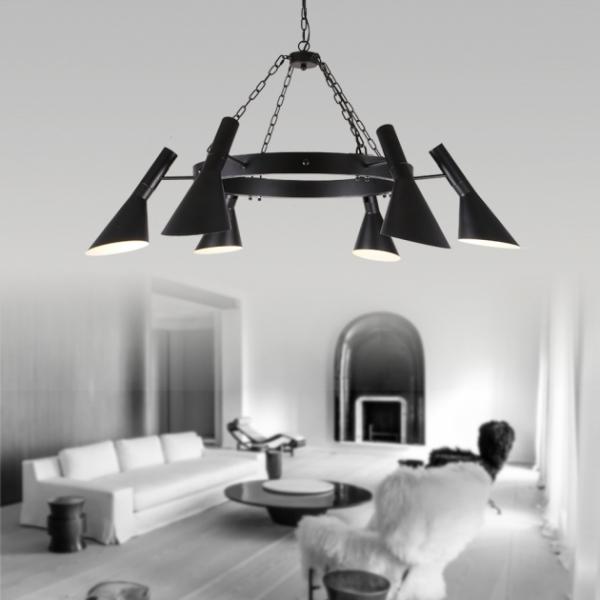 Moderno復古吊燈-6燈 1