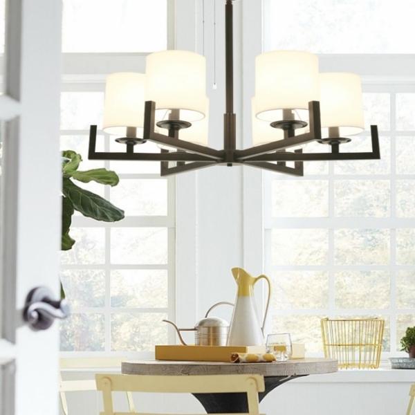 新中式布藝簡約吊燈 2