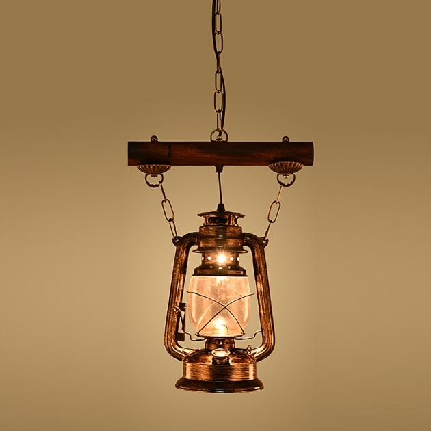 工業風復古油燈吊燈 2