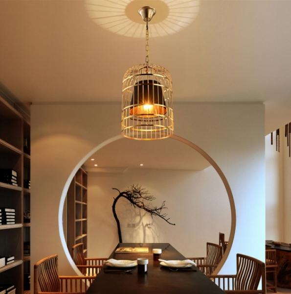 金色鳥籠吊燈 2