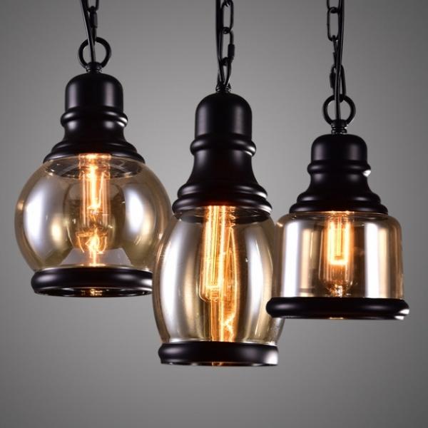 復古工業咖啡廳吊燈 4