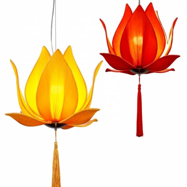 中式荷花吊燈 1