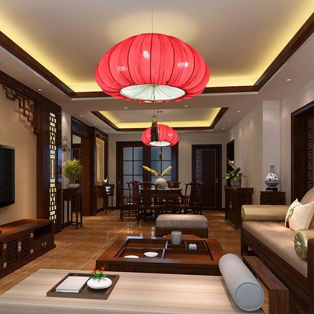 中式南瓜吊燈 3