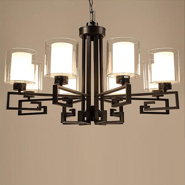 新中式直角吊燈 2