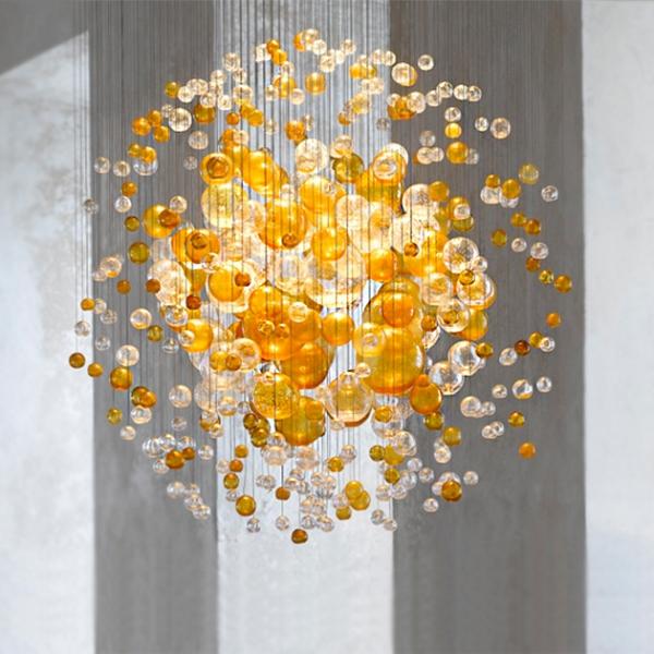 Lasvit Bubble 太空泡泡吊燈 1