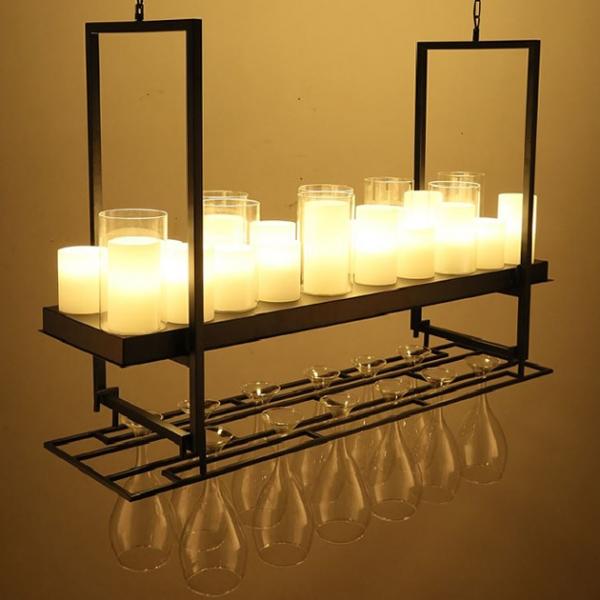 美式餐酒館吊燈 (不含酒杯) 2