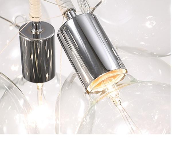 HC-0450C Geb  玻璃泡泡吊燈