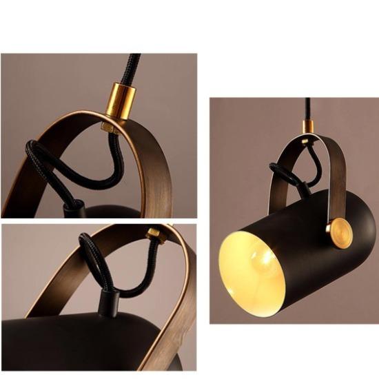 HC-0465CAura  皮革吊燈