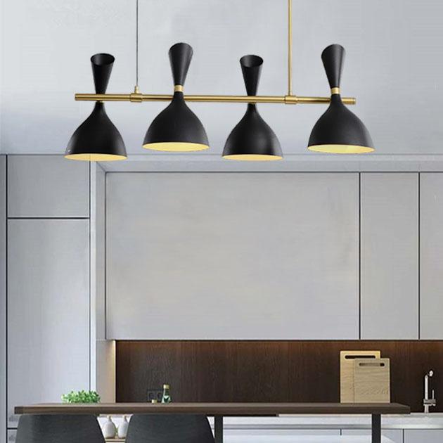 摩登長型餐吊燈-4燈 5
