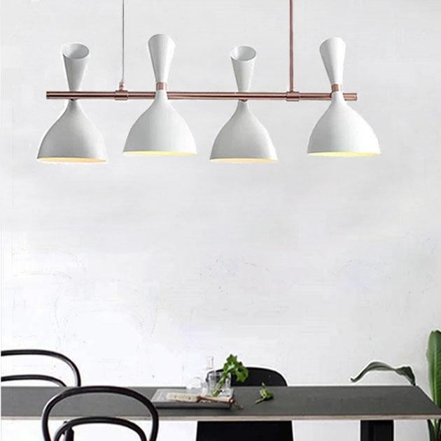 摩登長型餐吊燈-4燈 2