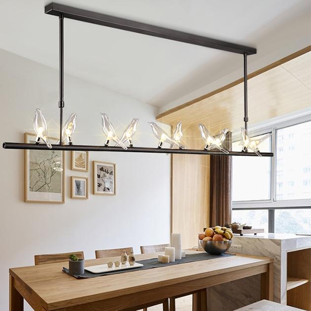 Travidebla  玻璃小鳥吊燈 3