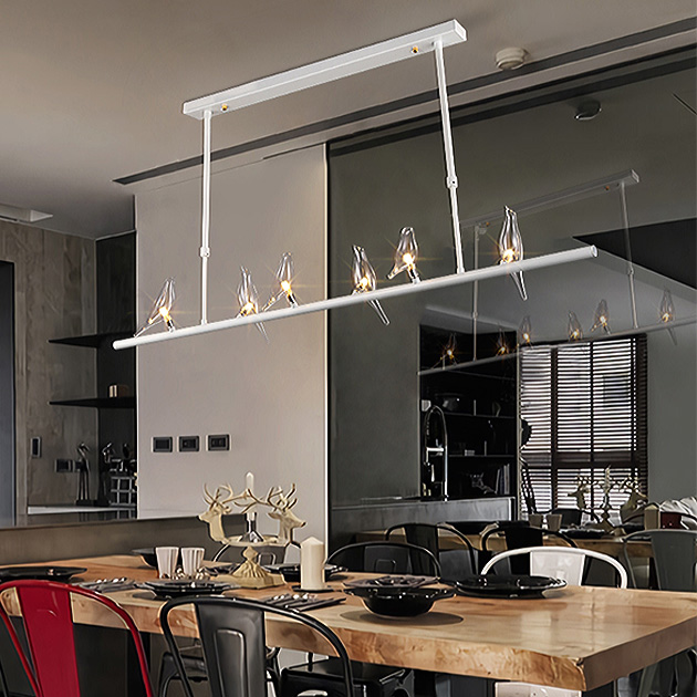 Travidebla  玻璃小鳥吊燈 4