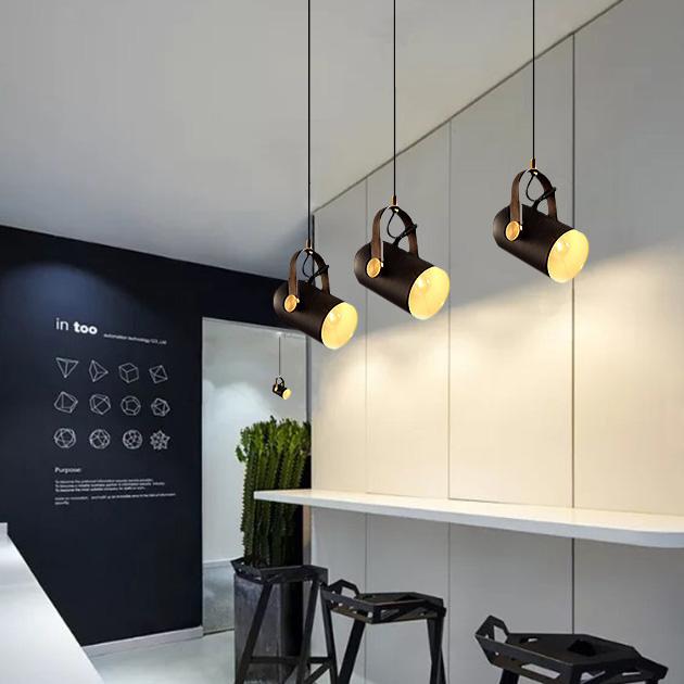 Aura  皮革吊燈 4