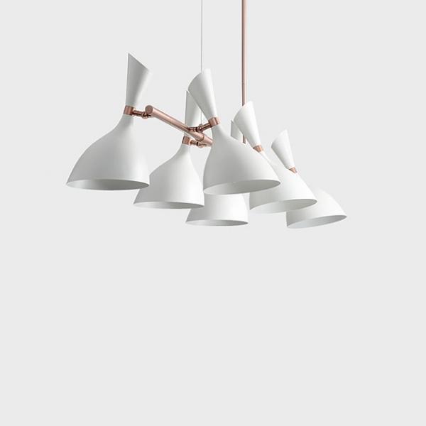摩登長型餐吊燈-6燈 1