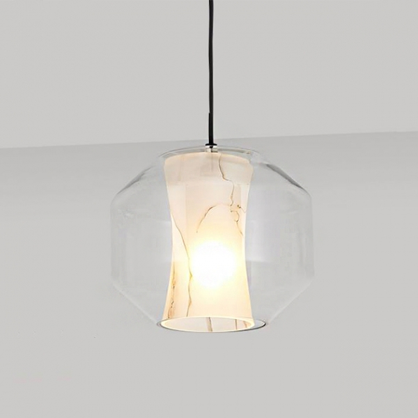 石紋玻璃吊燈 1
