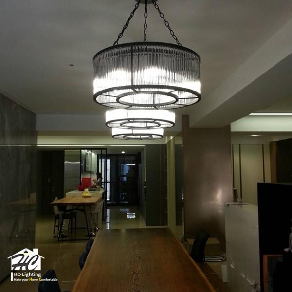 Jeanne 水晶圓環吊燈 3