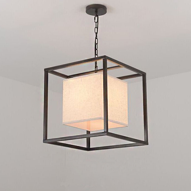 Iron Cube 大方塊吊燈 2