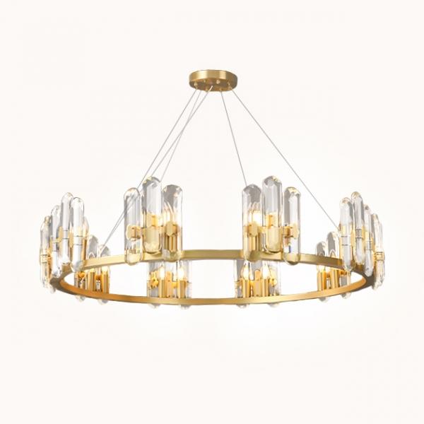 Zofia 黃銅水晶吊燈 1